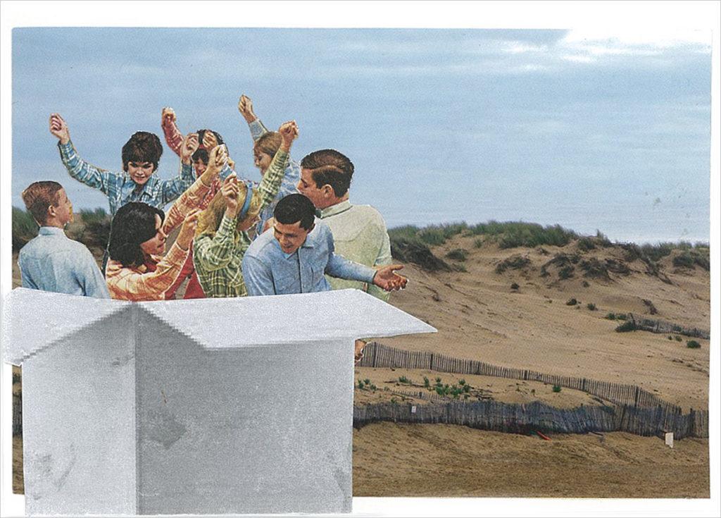 20 véritables cartes postales adressées à Georges Perec