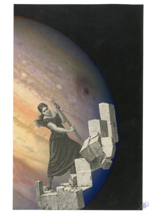 Abattre les vieux mondes [Photo : True color image of impact zones D and G (Jupiter), Crédit : H. Hammel, MIT and NASA/ESA]