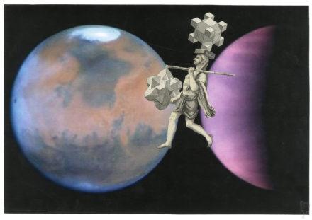 D'un monde à l'autre [Photo : Hubble monitors weather on Mars and Venus,Crédit : NASA et ESA]