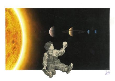 Alignement de planètes [Photo : Solar System (Artist's impression), Crédit : The International Astronomical Union/Martin Kornmesser]
